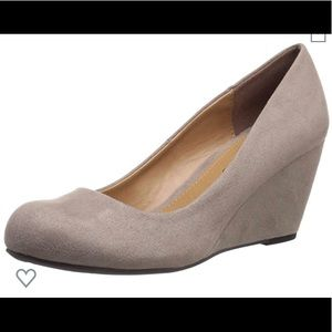 CL by Laundry Suede Wedge Pump